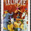 FRANCE - CIRC2002: stamp printed in France dedicated to circus, circ2002 — Stock Photo #21237477