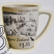 NEW ZEALAND - CIRCA 2005: Stamp printed in New Zealand dedicated to Cafe Culture, 1970s, circa 2005 — Stock Photo