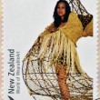 NEW ZEALAND - CIRCA 2004: Stamps printed in New Zealand dedicated to World of WearableArt shows Taunga Ika by Louise Neilson, circa 2004 — Stock Photo #21238043