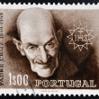 PORTUGAL - CIRCA 1959: A stamp printed in Portugal shows Francis Rodrigues da Cruz, circa 1959 - Zdjęcie stockowe