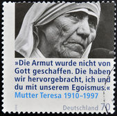 GERMANY - CIRCA 2010: A stamp printed in Germany shows mother Teresa, circa 2010 — Stock Photo