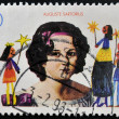 GERMANY- CIRCA 1996: stamp printed in Germany shows Childrens Missionary Work in Germany, portrait Auguste Sartorius, circa 1996. — Stock Photo