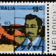 AUSTRALI- CIRC1976: stamp printed in Australishows William Gosse, circ1976 — Stock Photo #21829667