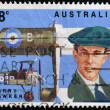 Stock Photo: AUSTRALI- CIRC1978: stamp printed in Australishows Harry Hawker, circ1978