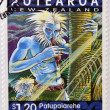 NEW ZEALAND - CIRCA 2000: A stamp printed in New Zealand shows Patupaiarehe, mountain talry tribe, circa  2000 — Stock Photo