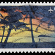 UNITED STATES OF AMERICA - CIRCA 2007: A stamp printed in USA shows image of Hagatna Bay in Guam, circa 2007  — Stock Photo