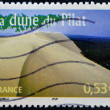 FRANCE - CIRCA 2005: A stamp printed in France shows The Great Dune of Pyla, circa 2005 — Stock Photo #22446031