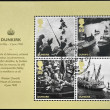 GREAT BRITAIN - CIRCA 2010: stamps printed in United Kingdom dedicated to Britain Alone, Dunkirk, circa 2010 — Stock Photo