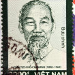 VIETNAM - CIRCA 2007: A stamp printed in Vietnam shows Ho Chi Minh, circa 2007 — Stock Photo #22447969