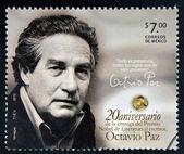 MEXICO - CIRCA 2010: A stamp printed in Mexico shows Octavio Paz, Nobel Prize for Literature, circa 2010 — Stock Photo