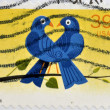 UNITED STATES OF AMERICA - CIRCA 2006: A Stamp printed in USA shows the Birds, hearth, circa 2006 — Stock Photo