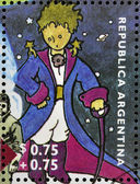 ARGENTINA - CIRCA 1995: A stamp printed in Argentina shows The Little Prince, circa 1995 — Stock Photo