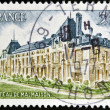 FRANCE - CIRCA 1976: A postage stamp printed in France shows Chateau de Malmaison, circa 1976  — Stock Photo