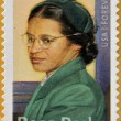 UNITED STATES OF AMERICA - CIRCA 2013: a stamp printed in USA showing Rosa Parks, circa 2013. — Stock Photo