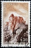франция - около 1965: марку, напечатанную во франции показывает форт-де-жу, около 1965 — Стоковое фото