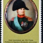 Постер, плакат: MOLDOVA CIRCA 2007: Stamp printed in Moldova dedicated to works from the National Museum of Art shows Napoleon Bonaparte circa 2007