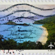 Stock Photo: UNITED STATES OF AMERIC- CIRC2008:stamp printed in USshows image of Virgin Islands are western island group of Leeward Islands, circ2008.