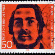 GERMANY - CIRCA 1970: stamp printed in Germany shows Friedrich Engels, socialist, collaborator with Karl Marx, circa 1970 - Foto de Stock