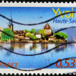 Royalty-Free Stock Photo: FRANCE - CIRCA 2006: A stamp printed in France shows Yvoire, circa 2006