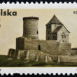 POLAND - CIRC1971: stamp printed in Poland shows Castle, Bedzin, circ1971 — Stock Photo #25206623