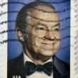 Foto de Stock  : UNITED STATES OF AMERIC- CIRC2009: stamp printed in USshows Bob Hope, circ2009