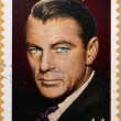 Stock Photo: UNITED STATES OF AMERIC- CIRC2009: stamp printed in USshowing image of Gary Cooper, circ2009.