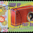 AUSTRALIA - CIRCA 1998: Stamp printed in Australia dedicated to Australian Rock and Roll shows Masters Apprentices, Turn Up Your Radio, circa 1995 — Stock Photo