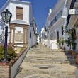 Stock Photo: Street in Frigiliana, Andalusia