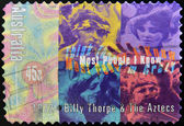 AUSTRALIA - CIRCA 1972: Stamp printed in Australia dedicated to Billy Thorpe & the Aztecs, Most I Know, circa 1972 — Stock Photo