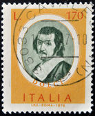 ITALY - CIRCA 1976: A stamp printed in Italy shows Famous painter, Carlo Dolci, circa 1976 — Zdjęcie stockowe