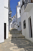 Street in Frigiliana — Stock fotografie