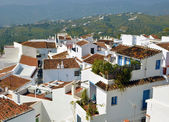 View of the typical rooftops Frigiliana — Foto Stock
