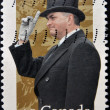 CANADA - CIRCA 2002: A stamp printed in Canada shows Ramon John Hnatyshyn — Stock Photo