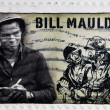 UNITED STATES OF AMERICA - CIRCA 2010: A stamp printed in USA shows Bill Mauldin, circa 2010 — Stock Photo