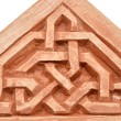 Arabic decoration, plastering Alhambra style — Stock Photo