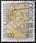 GERMANY - CIRCA 1991: A stamp printed in Germany shows Otto Dix, circa 1991 — Zdjęcie stockowe