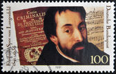 GERMANY - CIRCA 1991: A stamp printed in Germany shows Friedrich Spee von Langenfeld, circa 1991 — Stock Photo