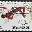 KOREA - CIRCA 1991: A stamp printed in North Korea dedicated to olympic games in Barcelona 1992, circa 1991 — Stock Photo