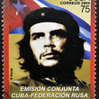 CUBA - CIRCA 2009: a stamp printed in Cuba showing an image of Ernesto Che Guevara, circa 2009. — Stock Photo #27118137