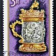 HUNGARY - CIRC1970: stamp printed in Hungary shows Tankard, 1690, circ1970 — Stock Photo #27118323