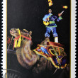 MONGOLIA - CIRCA 1986: A stamp printed in Mongolia shows Juggler, circa 1986 — Stock Photo