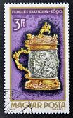 HUNGARY - CIRCA 1970: A stamp printed in Hungary shows Tankard, 1690, circa 1970 — 图库照片