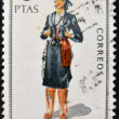 SPAIN - CIRCA 1968: A stamp printed in Spain dedicated to Provincial Costumes shows a woman from Cordoba, circa 1968 — Stock Photo