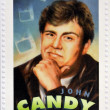 CANADA - CIRCA 2006: A stamp printed in Canada dedicated to  Canadian actors who have succeeded in Hollywood shows John Candy, circa 2006 — Stock Photo