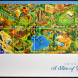 NEW ZEALAND - CIRCA 2010: Stamps printed in New Zealand shows a slice of heaven, circa 2010 — Stock Photo