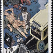 UNITED KINGDOM - CIRCA 1987: a stamp printed in the Great Britain shows St. John Ambulance, centenary, circa 1987  — Stock Photo