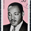 CHAD - CIRCA 1969: A stamp printed in cuba shows Martin Luther King, circa 1969 — Stock Photo #27576959