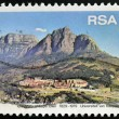 SOUTH AFRIC- CIRC1979: stamp printed in RSshows University of Cape Town, circ1979 — Stock Photo #27578335