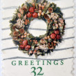 UNITED STATES OF AMERICA - CIRCA 1998: A stamp printed in USA dedicated to Christmas, Greetings, circa 1998 — Stock Photo