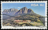 SOUTH AFRICA - CIRCA 1979: A stamp printed in RSA shows University of Cape Town, circa 1979 — Stock Photo